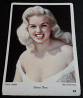 DIANA DORS # Altes Sammelbild / Vintage Photo-Karte - Ca. 9 X 13 Cm # [19-4233] - Fotos