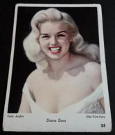 DIANA DORS # Altes Sammelbild / Vintage Photo-Karte - Ca. 9 X 13 Cm # [19-4233] - Foto