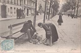 LE  MARCHAND  D'AIL - Petits Métiers à Paris