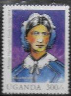 OUGANDA  N° 1853  * *  Millennium  Florence Nightingale Infermiere - Mujeres Famosas
