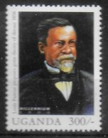OUGANDA  N° 1854  * *  Millennium  Pasteur - Louis Pasteur