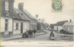 GANNES   La Rue (automobile, Animation) - Other Municipalities
