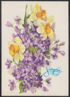 217 RUSSIA 1979 ENTIER POSTCARD 6520 Mint MARCH 8 WOMAN Day MOTHER Celebration FLOWER FLOWERS FLEUR BLUME BLUMEN USSR - Mother's Day