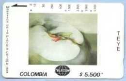 COLOMBIA : COLMT55 $5.500 TEYE    Melun   1986 USED - Kolumbien