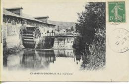 CHARMES LA GRANDE  La Scierie (belle Roue à Aubes) - Autres Communes