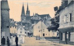 Chartres - Rue Du Bourg - Edition Clovis Baret - Chartres