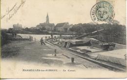 MARSEILLES LES AUBIGNY  Le Canal - France
