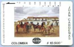 COLOMBIA : COLMT37 $10500 JUAN CARDENAS Pz Boliva USED - Kolumbien