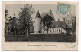 Près Argenton  --TENDU--1904-- Chateau De Broutay - Frankreich