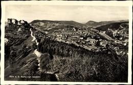 Cp Kirn An Der Nahe, Blick Auf Den Ort Von Westen, Berge, Burg - Allemagne