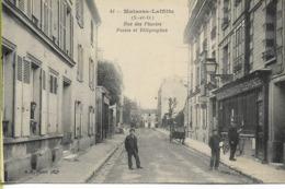MAISONS-LAFFITTE  Rue Des Plantes Poste Et Télégraphes - Maisons-Laffitte