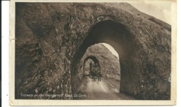 TUNNELS ON THE GLENGARRIFF ROAD - COUNTY CORK - WITH GOOD BANTRY POSTMARK - Cork