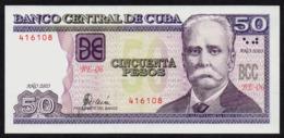 CUBA 50 PESOS 2003 PICK 123b UNC - Kuba