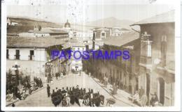 122979 BOLIVIA LA PAZ VISTA PARCIAL & LLAMA CIRCULATED TO ARGENTINA POSTAL POSTCARD - Bolivia