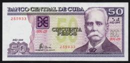 CUBA 50 PESOS 2008 PICK 123e UNC - Kuba