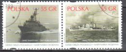 Poland 1999 - Polish Navy - Mi 3742-43 Used - Gestempelt - 1944-.... Republiek