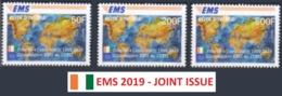 IVORY COAST COTE D'IVOIRE 2019 -  EMS - UPU JOINT ISSUE - MNH ** - U.P.U.