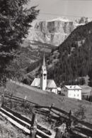 ALBA DI CANAZEI-VAL DI FASSA-TRENTO-CARTOLINA VERA FOTOGRAFIA-VIAGGIATA IL 21-6-1960 - Trento