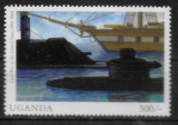 OUGANDA  N° 1865  * *  Millennium Bateaux Sous Marins Guerre - Submarines