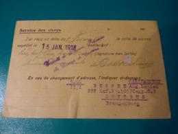 Lot Prisonnier, BESSEE Lucien, 222eRI, Croix Rouge Geneve, Ambassade France Et Espagne, Cachet Cottbus, Lettres Famille - 1914-18
