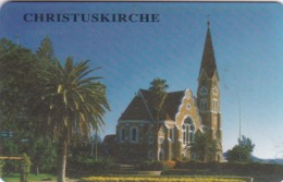 Namibia, NMB 021, $10 Christuskirche, 2 Scans.  (SIE 30) - Namibie