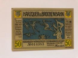 Allemagne Notgeld Nordhausen 50 Pfennig - Collezioni