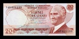 Turquía Turkey 20 Lira L.1970 Pick 187b SC UNC - Turquia