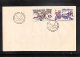 Czechoslovakia 1978 World Hockey Championship Interesting Cover - Jockey (sobre Hielo)