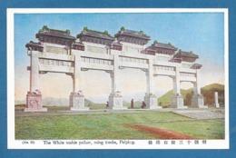 CINA CHINA THE WHITE MABLE PAILOW MING TOMBS PEKING PECHINO - Cina