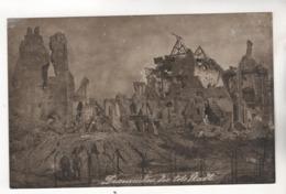 8136, FOTO-AK, WK I,  Diksmuide, West Flanders, Belgium. - Guerre 1914-18