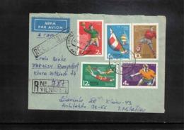 Russia SSSR 1970 Sports Interesting Cover - Handball