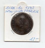 Francia - 1893 - Indocina Francese - 10 Gr. - 1 C. - Vedi Foto - (MW2624) - Colonie