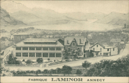 74 ANNECY /  Fabrique Laminor / - Annecy