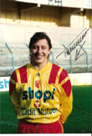PHOTO DEDICACEE DU FOOTBALLEUR DU R C LENS - RICHARD TARASEWICZ - Signed Photographs
