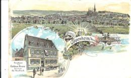 GRUSS AUS OPPENHEIM A RHEIN - POSTALLY USED 1905 - Andere