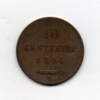 San Marino - 1894 - 10 Centesimi - (Vedi Foto) - (MW2625) - San Marino