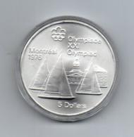 Canada - 1973 - 5 Dollari - XXI^ Olimpiadi Di Montreal Del 1976- Argento 925 - Peso 24,3 Grammi - In Capsula - (MW2626) - Canada