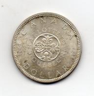 Canada - 1964 - 1 Dollaro - Charlottetown - Quebec - Argento - (MW2627) - Canada