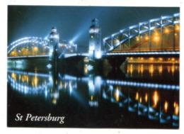 RUSSIA - AK 364379 Sankt Petersburg - Neva - Peter The Great Bridge - Russland