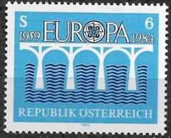 1984 Austria  Österreich Mi. 1772**MNH  Europa : 25 Jahre Europäische Konferenz Der Verwaltungen Für Das Post- Und Fernm - Europa-CEPT