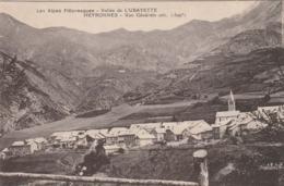 Carte Postale Ancienne Des Alpes De Haute-Provence - Vallée De L'Ubayettes - Meyronnes - Vue Générale - Francia