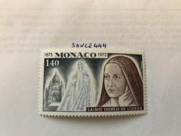 Monaco Holy Theresa 1973 Mnh - Monaco