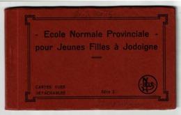 Carnet 12 Cartes - Ecole Normale Provinciale Pour Jeunes Filles à Jodoigne - Edit. Chefnay Schaerbeek - 14 Scans - Jodoigne