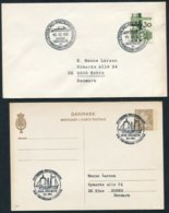 1969/70 Denmark Goteborg - Frederikshavn PRINSESSAN CHRISTIANA Ship Cover/card - Danimarca