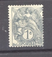 France  :  Yv  107b  **   Type II - 1900-29 Blanc