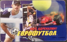 Telefonkarte Bulgarien - BulFon - Sport - Tennis - Basketball - Motorsport - 06/04 - Bulgarien