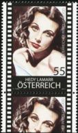 AUSTRIA 2011 Austrians In Hollywood Hedy Lamarr Movies Actress MNH - Acteurs