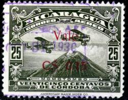 Nicaragua,air Mail 1930,0.15/25c./Scott#C7,,used,as Scan - Nicaragua