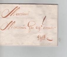 PR7571/ Précurseur LAC Daté De Courtray (Courtrai-Kortrijk) 1680 Port 1 > Lille - 1621-1713 (Spanish Netherlands)