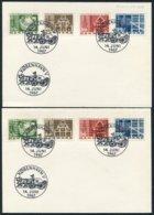 1967 Denmark Copenhagen 800th Anniversary X 2 Cards. Normal + Phos Sets - Danimarca